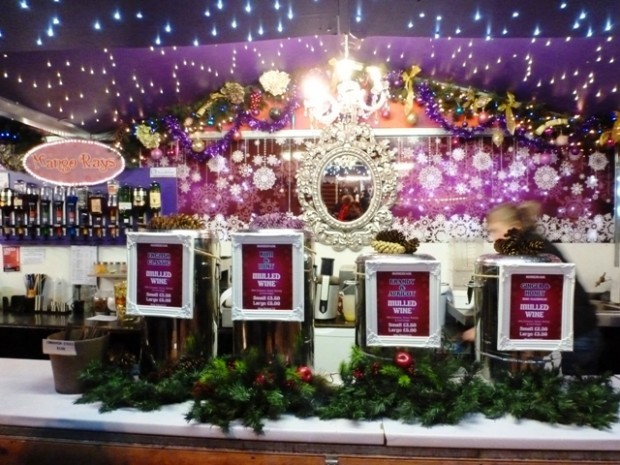 Mulled Wine Stall - Manchester Christmas Market by Zoe Dawes