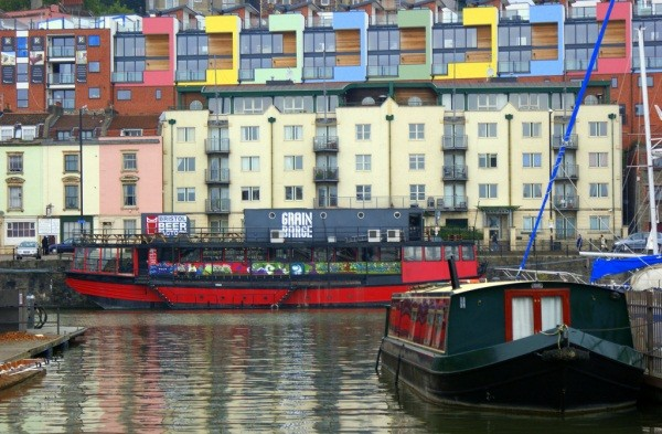 Colourful boats - by John191cr - Bristol