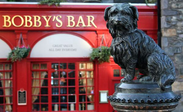 Greyfriars Bobby by H4NUM4N on flickr