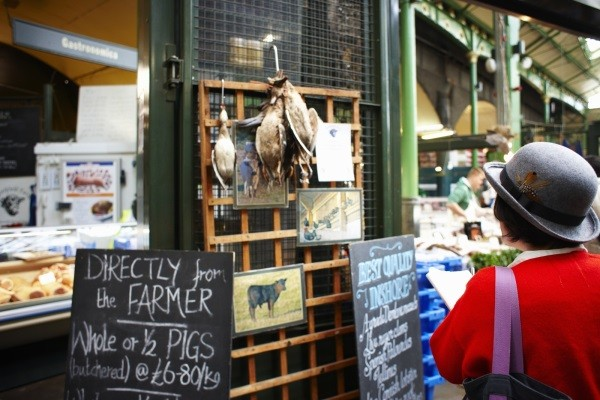 Borough Market ©VisitBritain Joanna Henderson