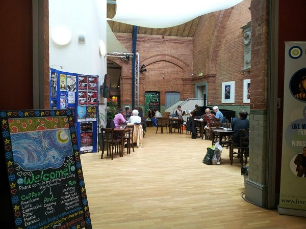 Drill Hall Cafe © VisitLincoln