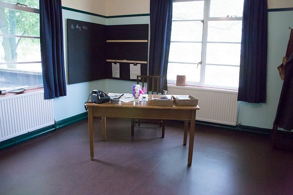 Guy Gibson's Office at RAF Scampton © Steven Whitehead