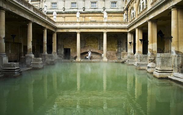 The Roman Baths, Bath, England