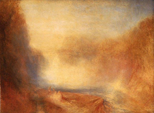 JMW Turner Falls of the Clyde 1840