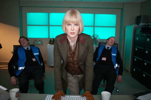 Nicole Kidman as the villain in a scene from the Paddington film