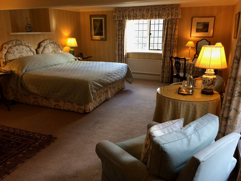 A superior suite in Bodysgallen Hall, a Welsh Rarebits hotel in Wales