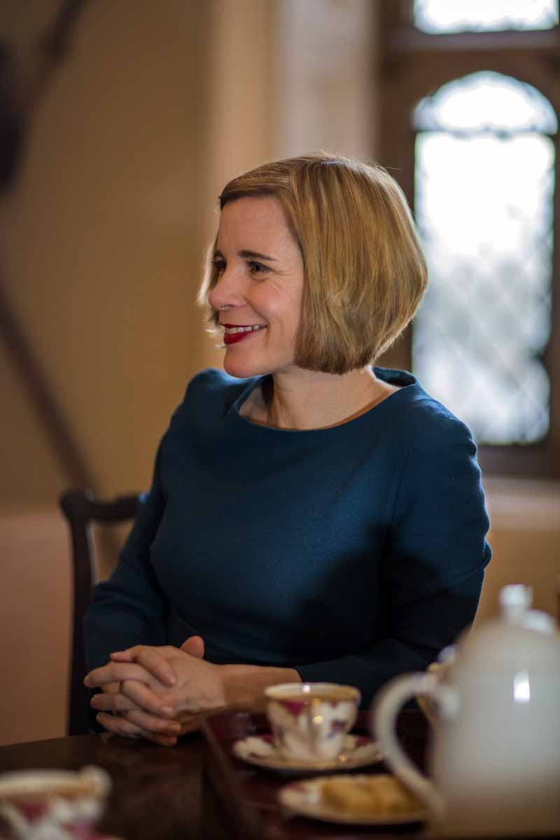Lucy Worsley - Chief Curator of Historic Royal Palaces,