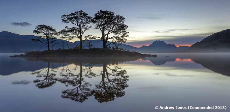 Loch Maree at Dawn, Wester Ross, Scotland