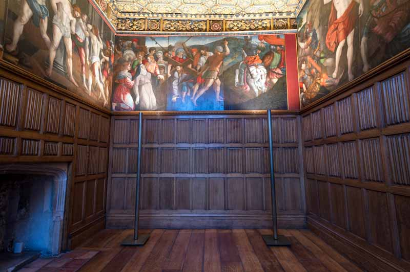 Gallery in Hampton Court