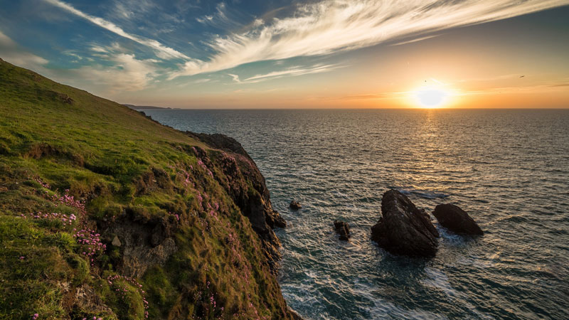 Arfordir Llangrannog Coast by Grzegorz Supryn on Flickr