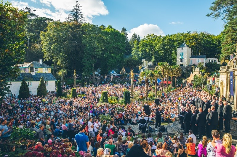 Wales Festival Number 6 Portmeirion music