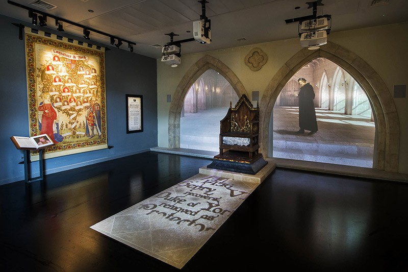 Richard III Visitor Centre, Leicester, England
