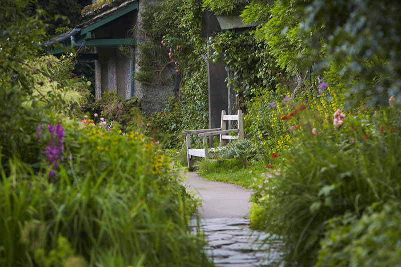 Beatrix Potter's house, Hill Top, in the Lake District